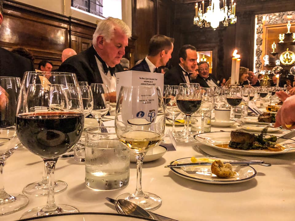 Gala Dinner in Vintners Hall