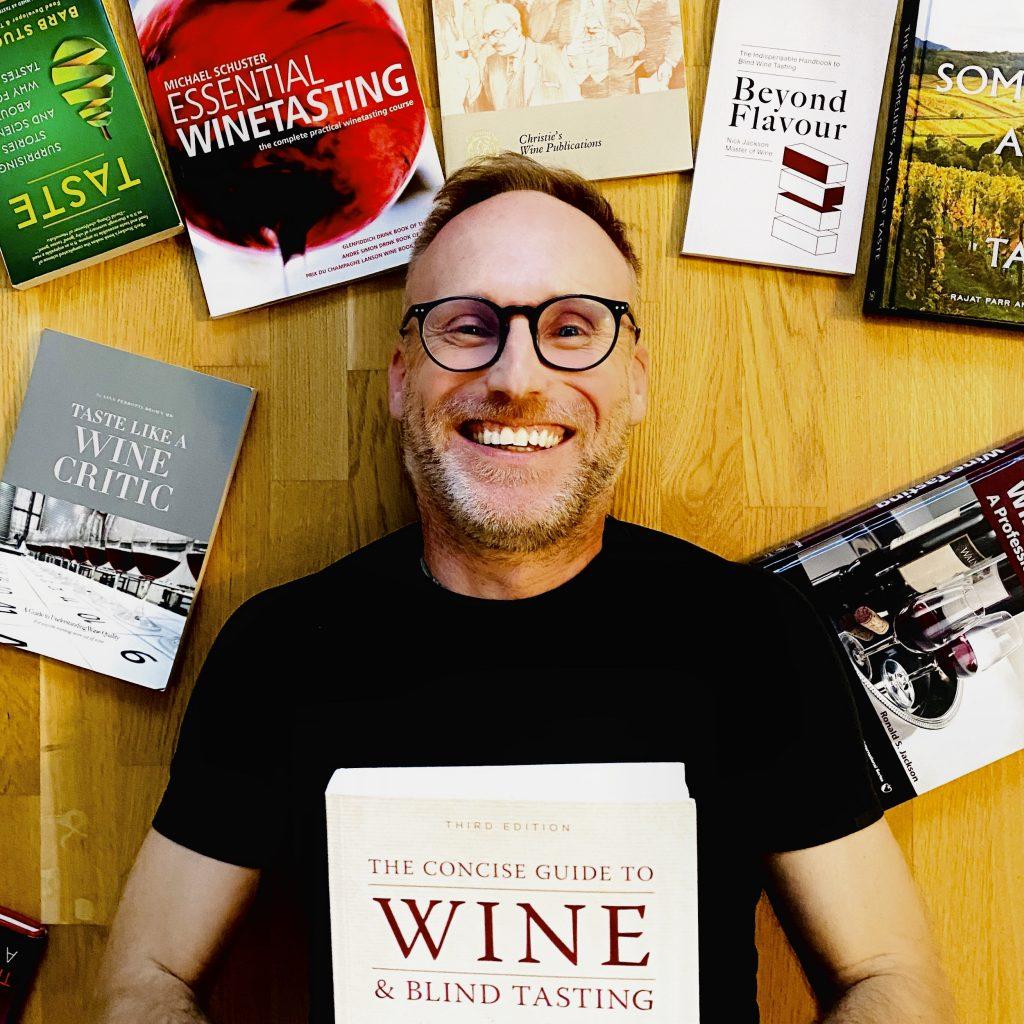 Thomas Curtius MW with Books
