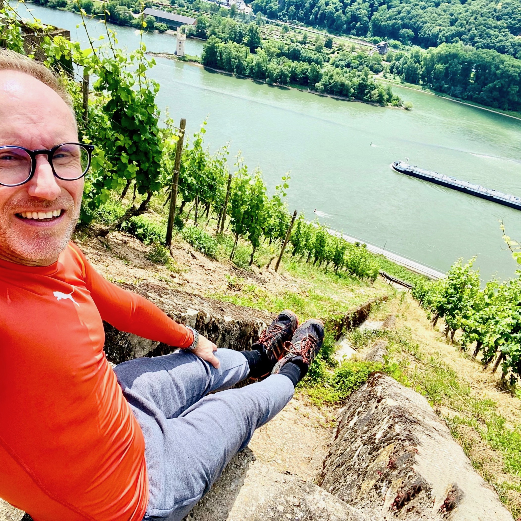 Visiting the Steep Sides of Rheingau