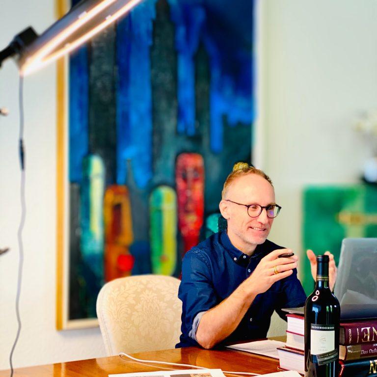 Thomas Curtius does an Aussie Webinar