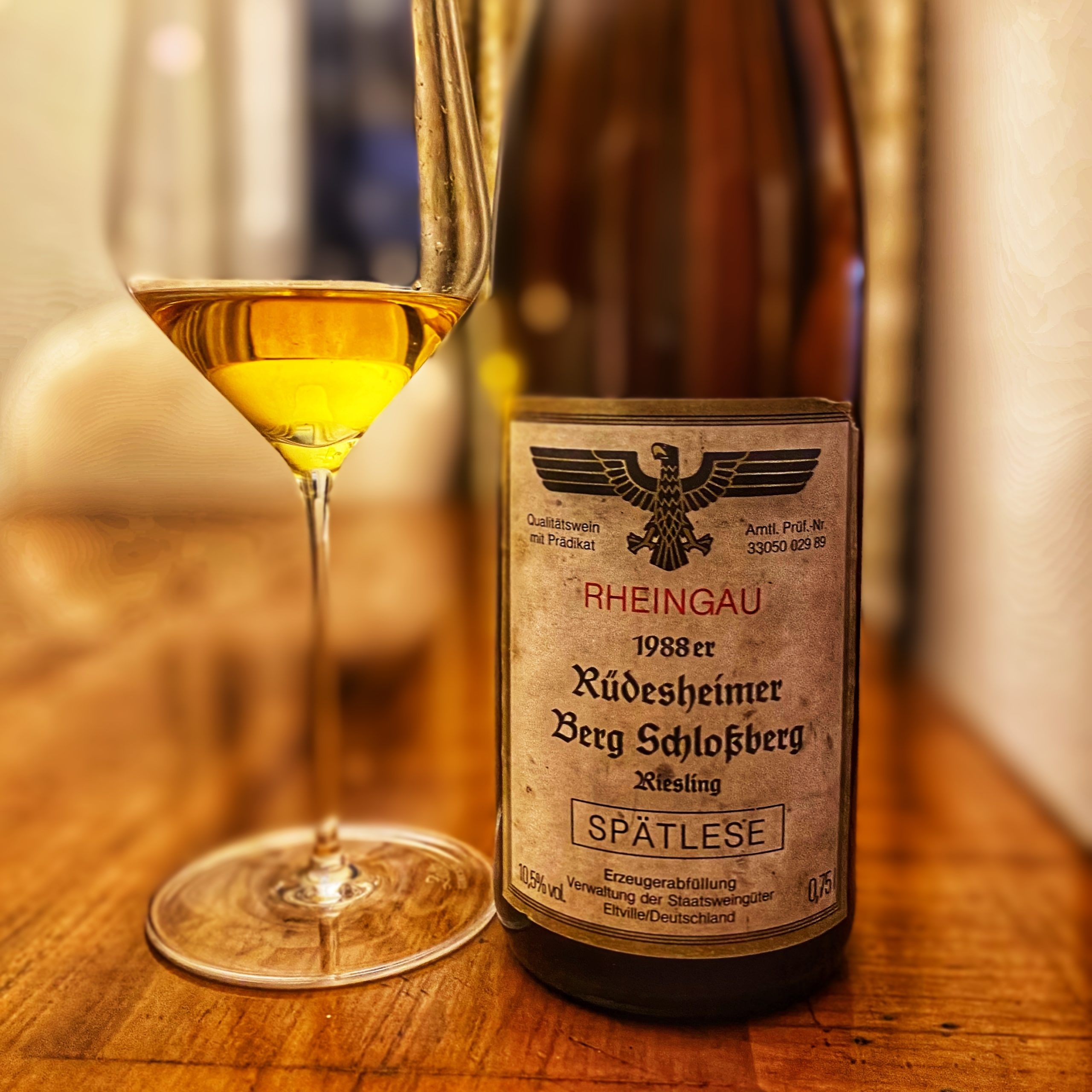 You are currently viewing Spaetlese Schlossberg 1988