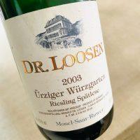 Matured Riesling from Wuerzgarten